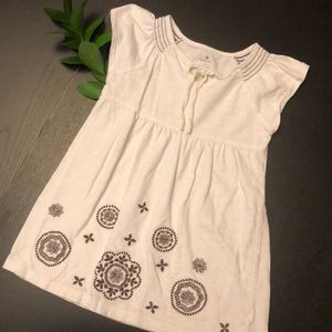 Old Navy Swimsuit Coverup White Black 3T